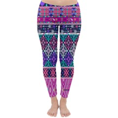 Tribal Seamless Aztec Pattern Classic Winter Leggings