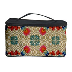 Traditional Scandinavian Pattern Cosmetic Storage Case