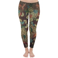 Traditional Batik Art Pattern Classic Winter Leggings
