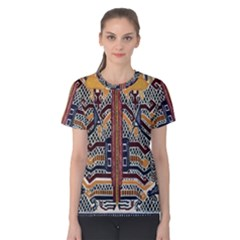Traditional Batik Indonesia Pattern Women s Cotton Tee