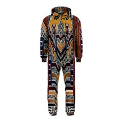 Traditional Batik Indonesia Pattern Hooded Jumpsuit (kids)