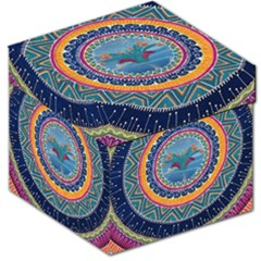 Traditional Pakistani Art Storage Stool 12