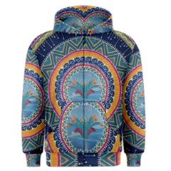 Traditional Pakistani Art Men s Zipper Hoodie