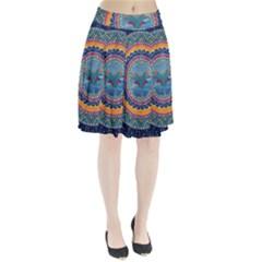 Traditional Pakistani Art Pleated Skirt