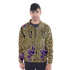 Traditional Art Batik Pattern Wind Breaker (men)