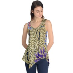 Traditional Art Batik Pattern Sleeveless Tunic