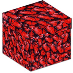 The Red Butterflies Sticking Together In The Nature Storage Stool 12