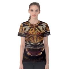 Tiger Face Women s Cotton Tee