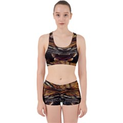 Tiger Face Work It Out Sports Bra Set