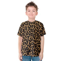 Tiger Skin Art Pattern Kids  Cotton Tee