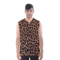 Tiger Skin Art Pattern Men s Basketball Tank Top