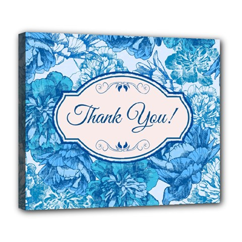 Thank You Deluxe Canvas 24  X 20