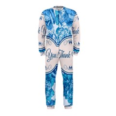Thank You Onepiece Jumpsuit (kids)