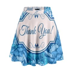 Thank You High Waist Skirt