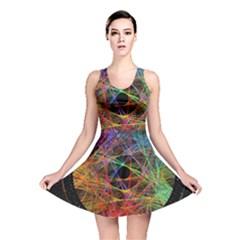 The Art Links Pi Reversible Skater Dress