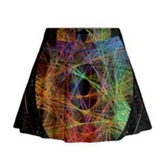 The Art Links Pi Mini Flare Skirt