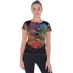 The Art Links Pi Short Sleeve Sports Top
