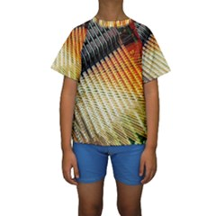 Technology Circuit Kids  Short Sleeve Swimwear
