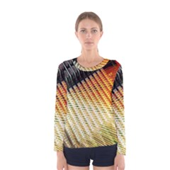 Technology Circuit Women s Long Sleeve Tee