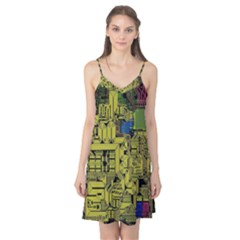 Technology Circuit Board Camis Nightgown
