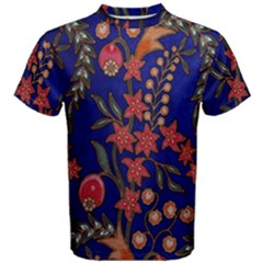 Texture Batik Fabric Men s Cotton Tee