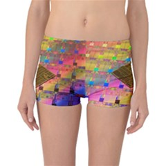 Technology Circuit Pentium Die Reversible Boyleg Bikini Bottoms