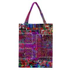 Technology Circuit Board Layout Pattern Classic Tote Bag