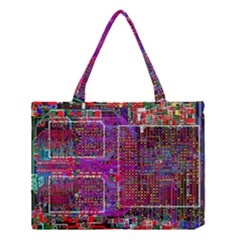 Technology Circuit Board Layout Pattern Medium Tote Bag