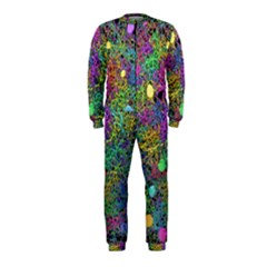 Starbursts Biploar Spring Colors Nature Onepiece Jumpsuit (kids)