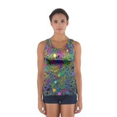 Starbursts Biploar Spring Colors Nature Sport Tank Top