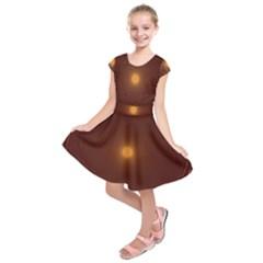 Spiral Vintage Kids  Short Sleeve Dress