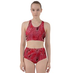 Red Peacock Floral Embroidered Long Qipao Traditional Chinese Cheongsam Mandarin Bikini Swimsuit Spa Swimsuit