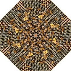 Queen Cup Honeycomb Honey Bee Straight Umbrellas