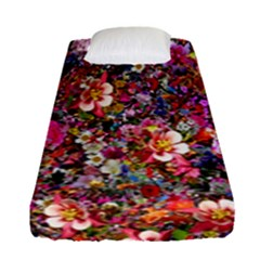Psychedelic Flower Fitted Sheet (single Size)
