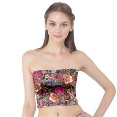 Psychedelic Flower Tube Top