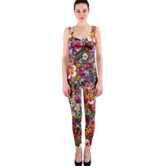 Psychedelic Flower Onepiece Catsuit