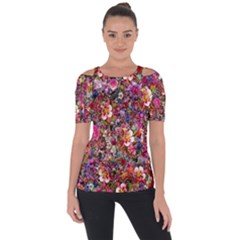 Psychedelic Flower Short Sleeve Top