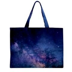 Galaxy Nebula Astro Stars Space Zipper Mini Tote Bag