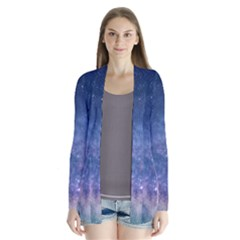 Galaxy Nebula Astro Stars Space Drape Collar Cardigan