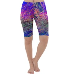 Poetic Cosmos Of The Breath Cropped Leggings