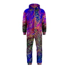 Poetic Cosmos Of The Breath Hooded Jumpsuit (kids)