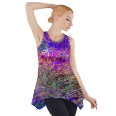 Poetic Cosmos Of The Breath Side Drop Tank Tunic