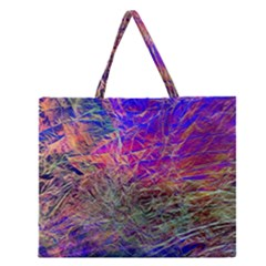 Poetic Cosmos Of The Breath Zipper Large Tote Bag