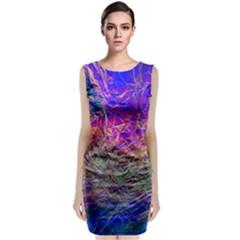 Poetic Cosmos Of The Breath Classic Sleeveless Midi Dress