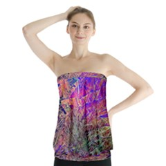 Poetic Cosmos Of The Breath Strapless Top