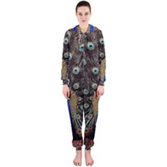 Peacock Hooded Jumpsuit (ladies)