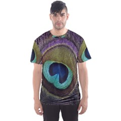 Peacock Feather Men s Sports Mesh Tee