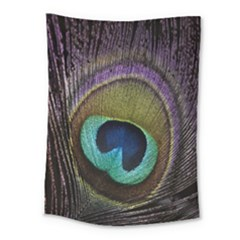 Peacock Feather Medium Tapestry