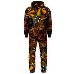 Pattern Bright Hooded Jumpsuit (men)