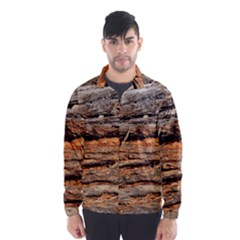 Natural Wood Texture Wind Breaker (men)